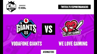 Vodafone Giants vs We Love Gaming - EU Masters Summer 2019 - Groups Day 3 en español