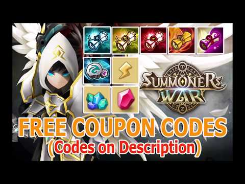 Summoners War FREE Coupon Codes 2019 | LEGIT | Updated! August 22,2019,Codes on descriptions