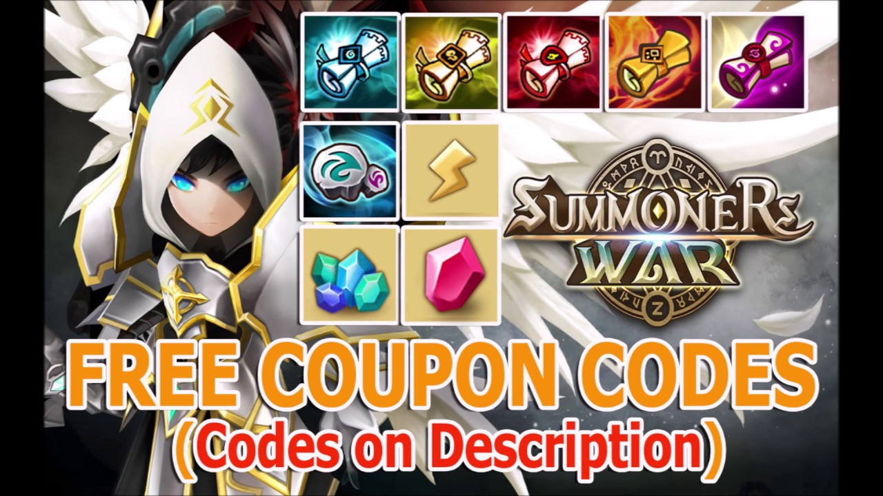 Summoners War FREE Coupon Codes 2019 | LEGIT | Updated! September  5,2019,Codes on descriptions