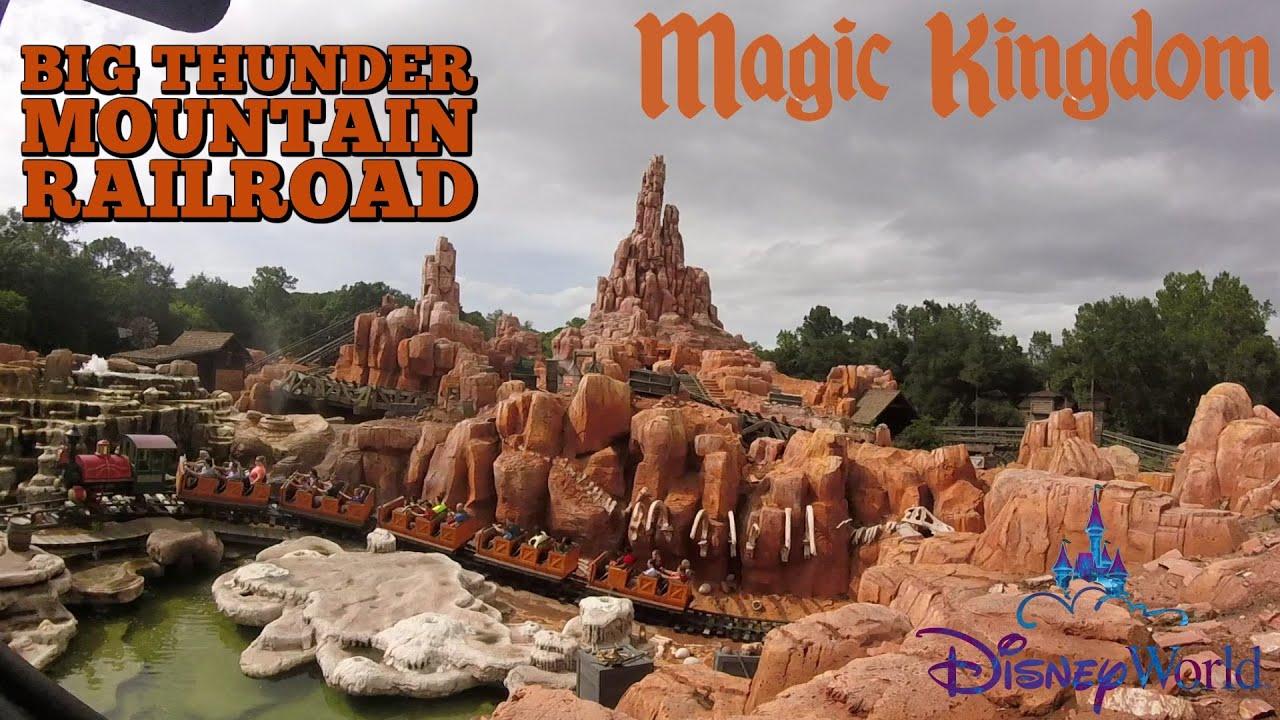 Big thunder mountain magic kingdom walt disney world resort orlando florida pov