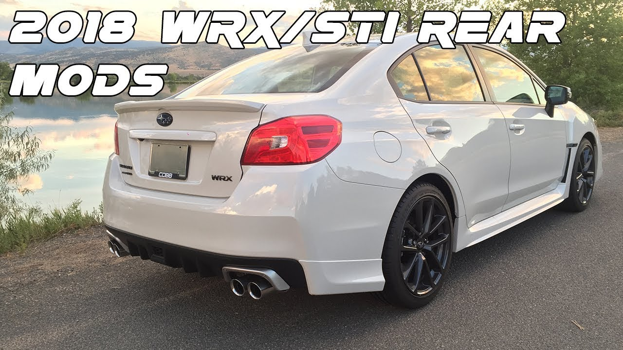 2018 WRX/STI: USDM Aero Splash Guards & JDM Exhaust Finisher Install