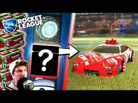 Rocket League CRATE OPENING! - ULTIMATE CHRISTMAS CAR! - New Secret Santa Crates (Trading/Update)