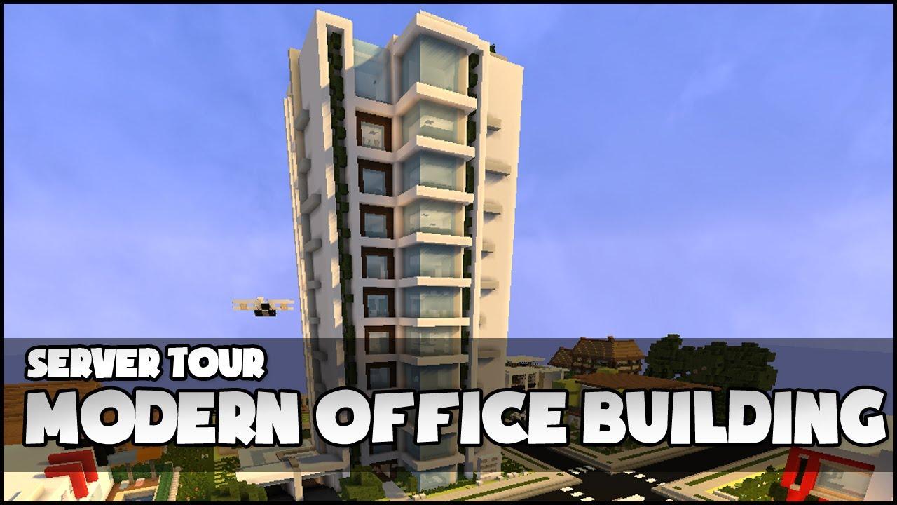 minecraft modern office building youtube. Black Bedroom Furniture Sets. Home Design Ideas
