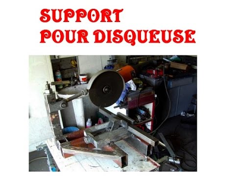 Support pour disqueuse youtube - Support pour photo original ...