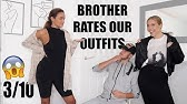 SAVAGE YOUNGER BROTHER RATES OUR PLT OUTFITS - ad | Syd and Ell
