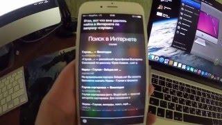 Cири на русском (Siri)