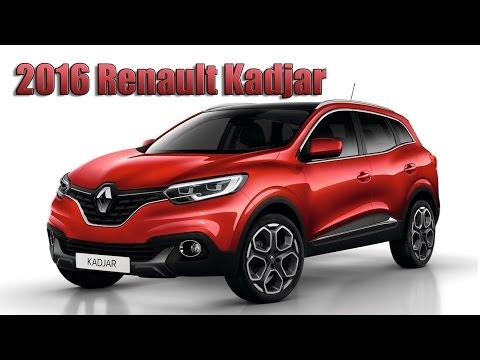 2016 Renault Kadjar - new C-segment crossover from Europe