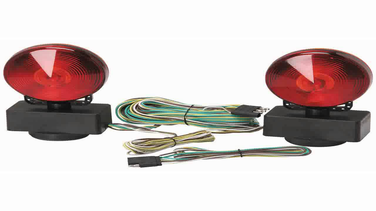 Magnetic Trailer Lights Wiring Diagram : How to install magnetic trailer lights wiring diagrams