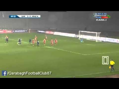 'Qarabağ FK' 4-0 'Araz-Naxçıvan'...