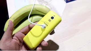 Nokia 8110 4G (2018) Banana Yellow Hands on, Camera, Features, Price