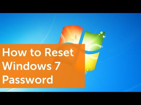 How To Reset Your Windows 7 Password In 99 Seconds
