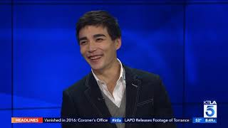 """Ludi Lin on How Long he Spent in the Makeup Chair for his Role in """"Aquaman"""""""
