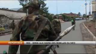 RDC: Goma aux mains des rebelles du M23