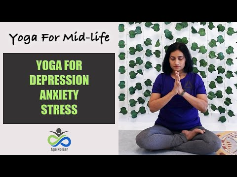 Yoga For Depression / Anxiety /Stress | Relaxing Yoga | Yoga Before Bedtime | MidlifeYoga Practice