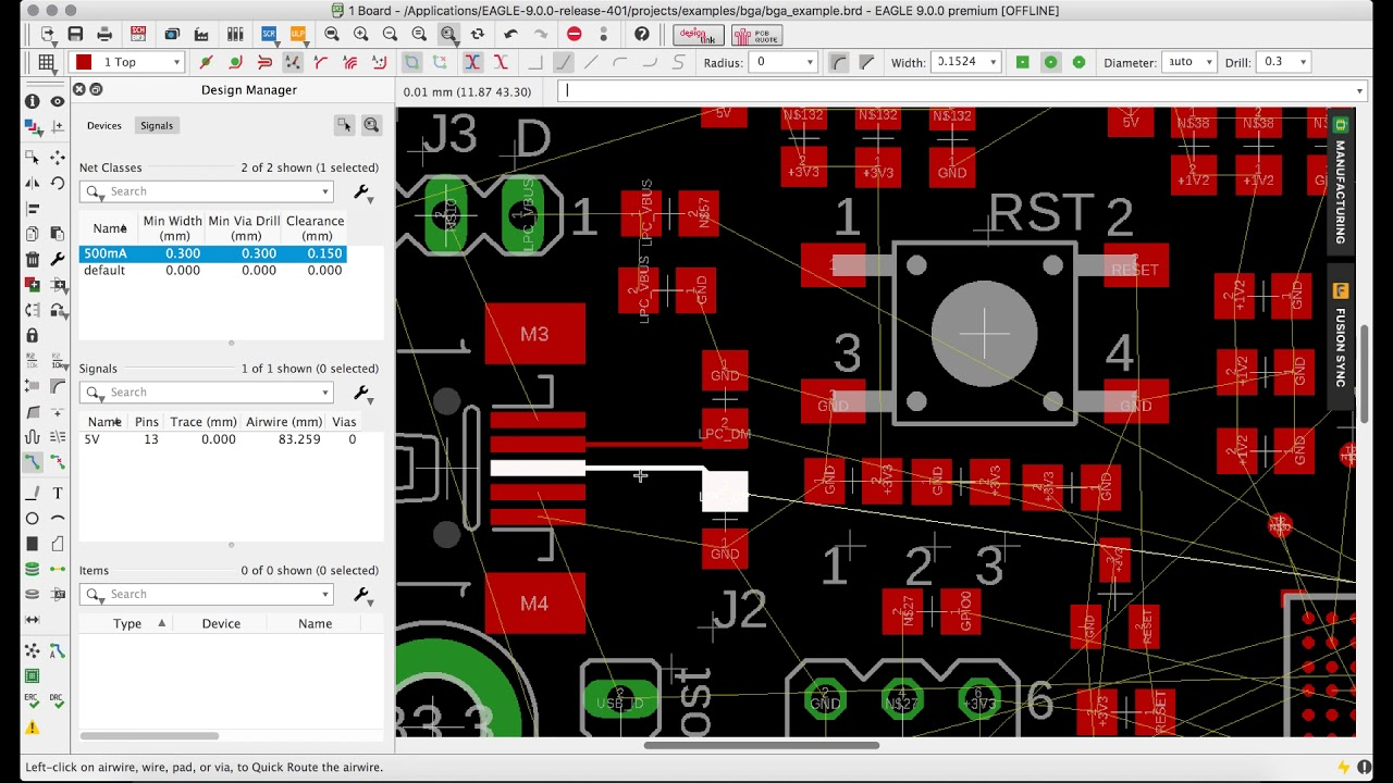 New Quick Route speeds up PCB Routing in Autodesk EAGLE! - YouTube