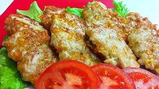 Самые сочные и вкусные котлеты! Обалденный ПЕРЕКУС из Курицы и Сыра!