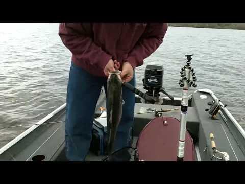Striper Fishing Lake Arthur Kodak Playsport