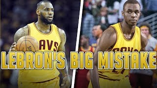 The BIGGEST MISTAKE LeBron made in his Career and Why Kyrie is DEMANDING A Trade