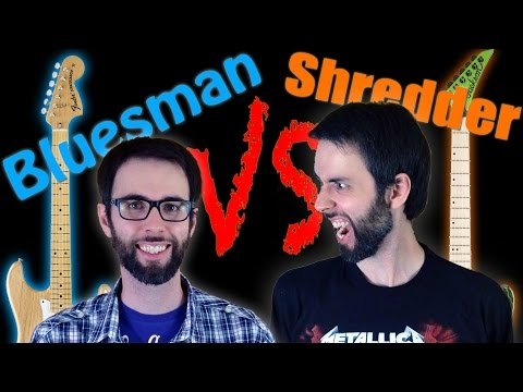 Bluesman VS Shredder Guitar Jam - Sfida: chitarrista Blues contro Metallaro