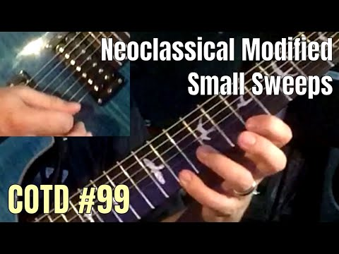 Neoclassical Modified Small Sweeps | ShredMentor Challenge of the Day #99