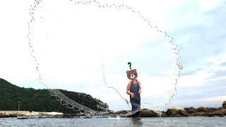 [이런 투망질은 처음 보실겁니다] 국민 횟감 생선들의 대반전.... 5분 뒤 당신은 벵에돔과 돌돔에 대한 고정관념이 깨집니다.