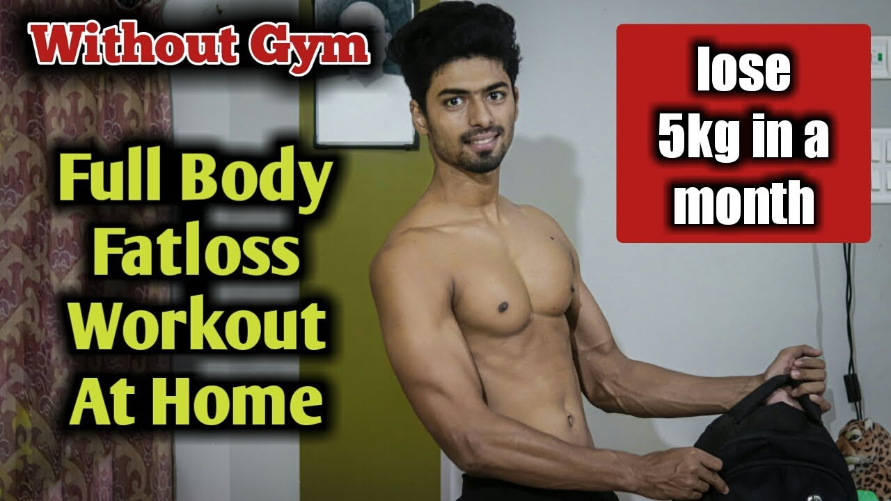 No Gym Full Body Workout For FATLOSS At Home | Fat Burning Circuit Workout At Home | Najim Fitness