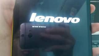Lenovo tab s8 - Fix Boot Failed. EFI Hard Drive recovery DroidBoot mode