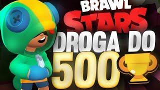 LEON DROGA DO 500 ODC.5  BRAWL STARS POLSKA