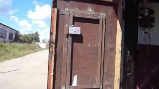 . Как самому сделать дверь в створке ворот.(Как сделать дверь из металла., 2015-10-13T21:26:01.000Z)