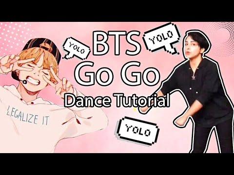 BTS - Go Go (Pre Chorus, Chorus, Ending Part) Dance Tutorial In Eng & Arb thumbnail