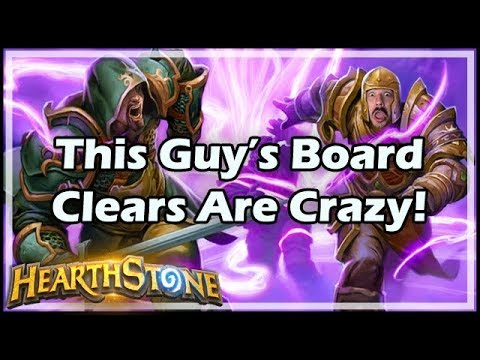 Hearthstone This Guy's Board Clears Are Crazy!