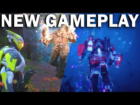 *NEW* ANTHEM GAMEPLAY! Underwater! Boss Fights! Interceptor & Colossus! | Freeplay
