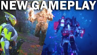 *NEW* ANTHEM GAMEPLAY! Underwater! Boss Fights! Interceptor & Colossus! | Freeplay