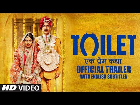 Thumbnail: Toilet Ek Prem Katha Trailer With English Subtitles​ | Akshay Kumar | Bhumi Pednekar | 11 Aug 2017