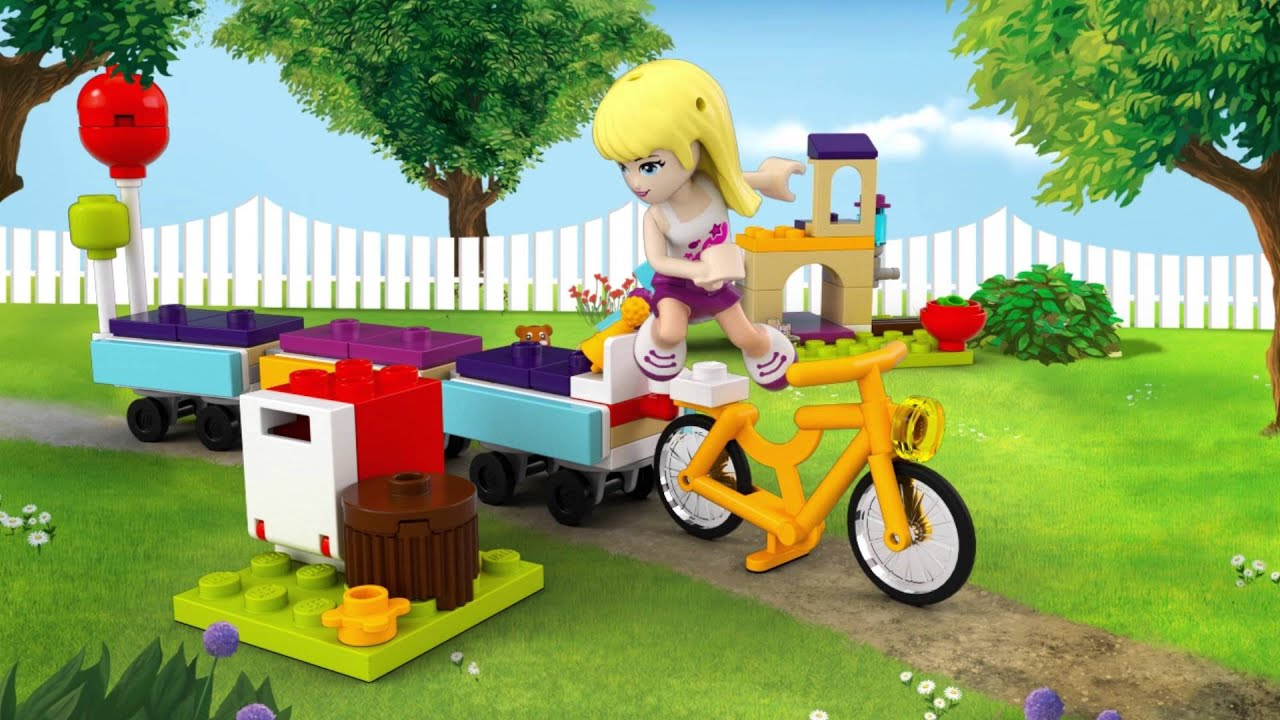 Party Train - LEGO Friends - Animation 41111 - YouTube