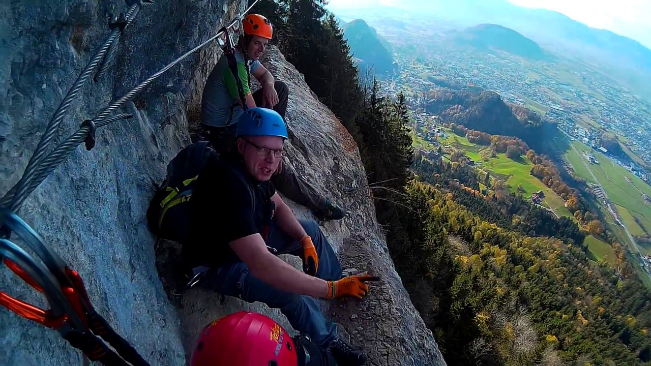 Klettersteig Via Kapf : Auf guten wegen andreas outdoor klettersteige meschach