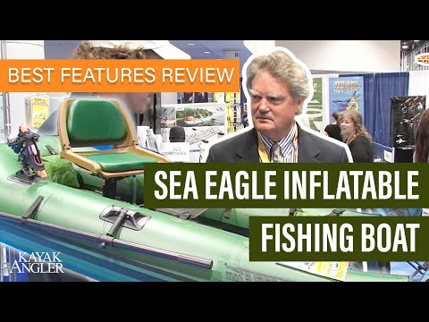 Sea Eagle Inflatable Fishing Boat  🎣 Fishing Kayak 📈 Specs & Features Review And Walk-Around 🏆