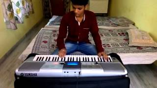 Babul jo tune sikhaya On Keyboard by Ravi Verma