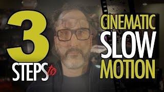Video How to SHOOT VIDEO: 3 Steps to Cinematic SLOW MOTION download MP3, 3GP, MP4, WEBM, AVI, FLV Maret 2018