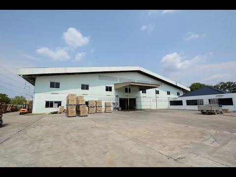 โรงงาน พร้อมสำนักงาน ตั้งอยู่ในเขตอุตสาหกรรมกบินทร์ ตำบลหนองกี่ อำเภอ กบินทร์บุรี ปราจีนบุรี