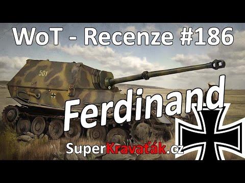 World of Tanks Ferdinand (recenze #186)
