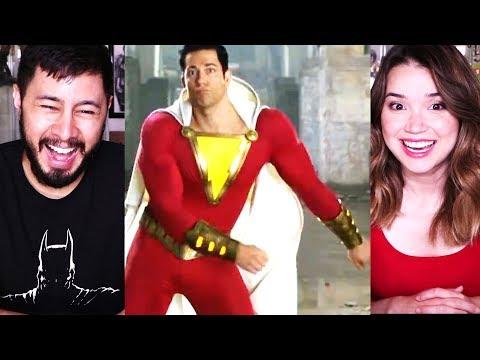 SHAZAM! | Comic-Con | Teaser Trailer Reaction!