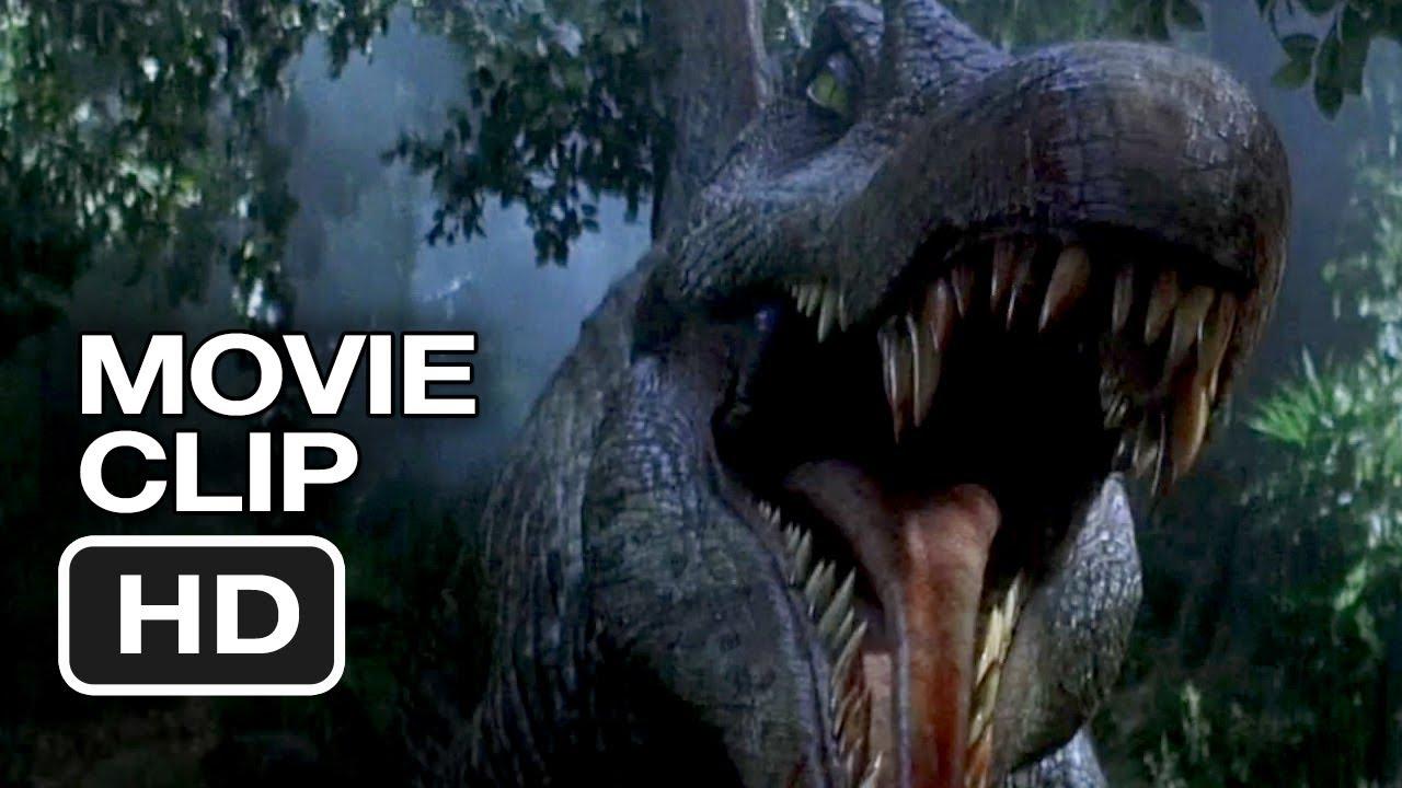 Jurassic Park 3 (2/10) Movie CLIP - Spinosaurus Attack ...
