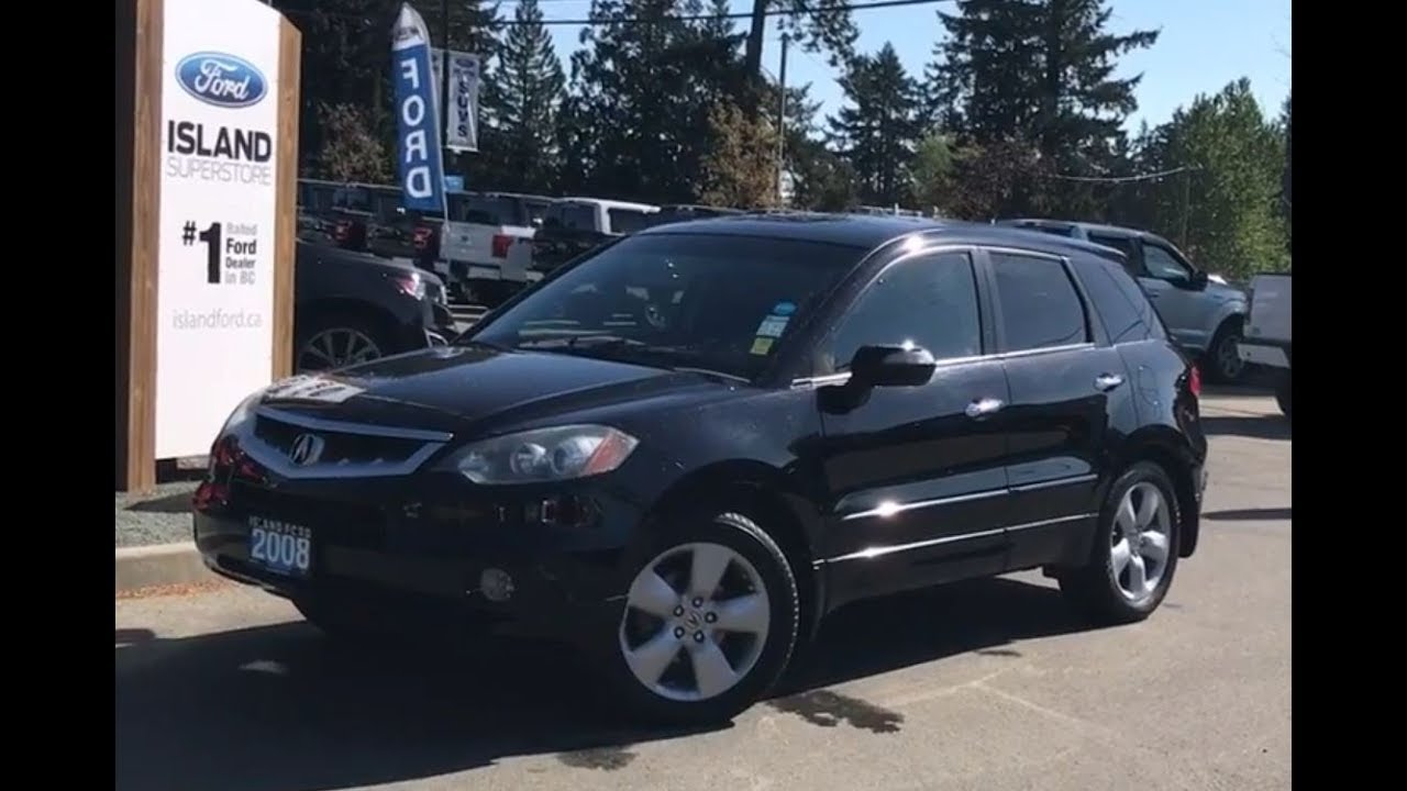 20 Acura RDX W/ Leather, Heated Seats, AWD Review  Island Ford