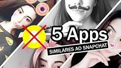 5 APPS melhores que o Snapchat ?❤