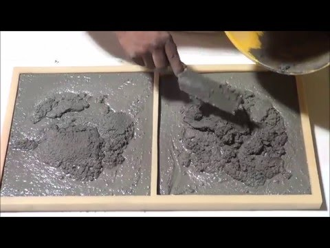 Globmarble SS 5301 Concrete Stone Molds Casting. Premixed bag of concrere