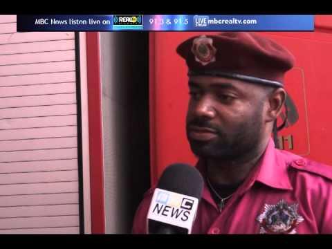 Fire Service Association donates to Dominica - MBC News