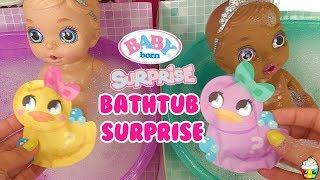 Baby Born Surprise Bathtub Surprise Color Change Hair, Diaper Surprise