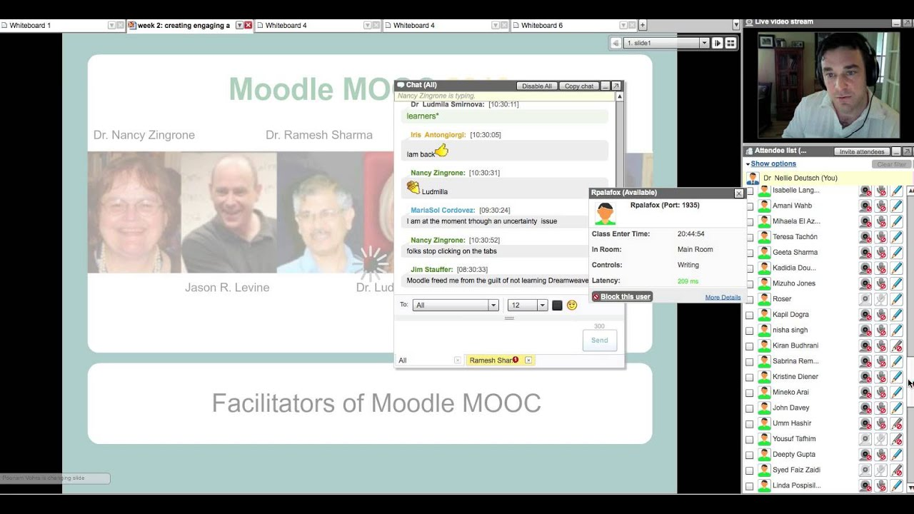 Using Moodle with a student centred curriculum – Dave's Educational Blog