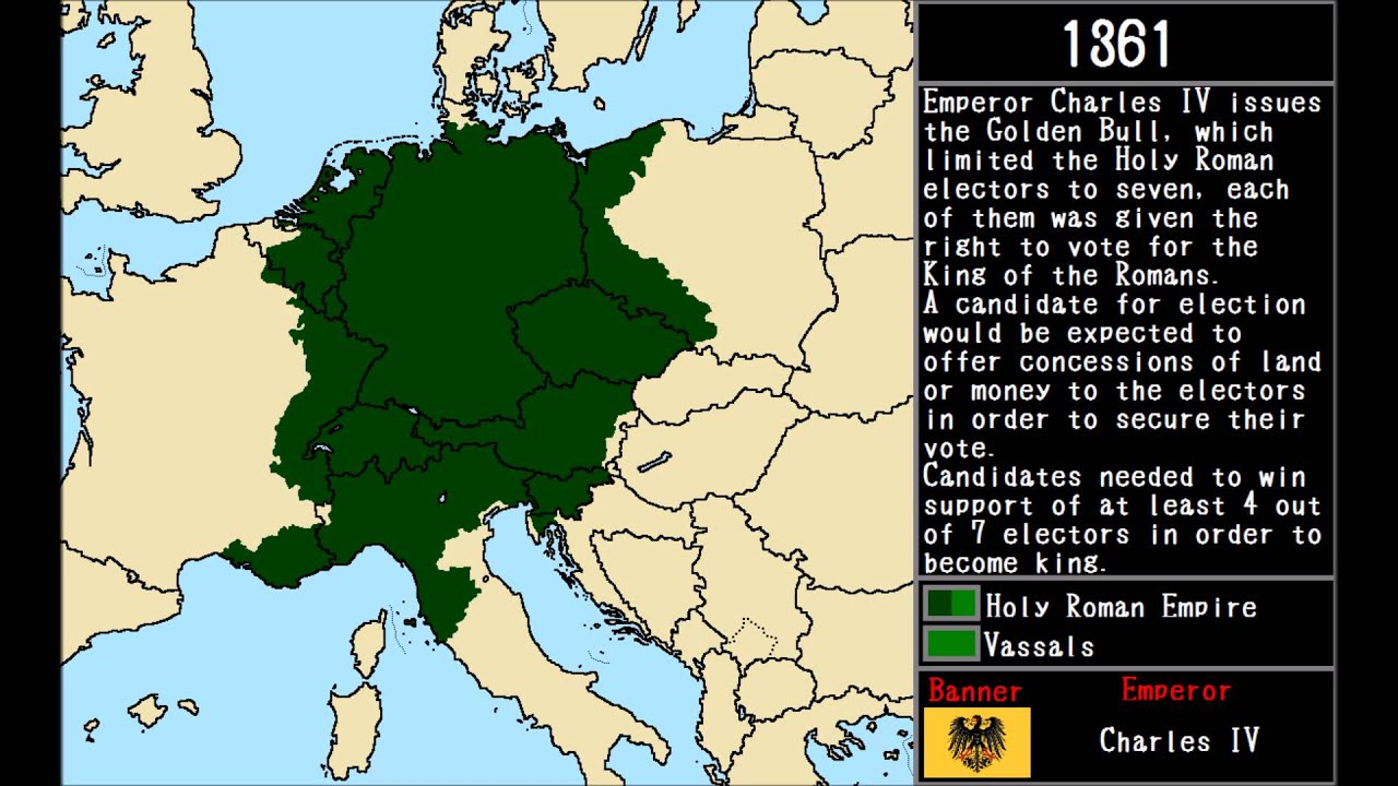 The Holy Roman Empire YouTube - Holy see map hd